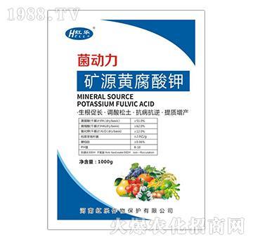矿源黄腐酸钾-菌动力-红乐