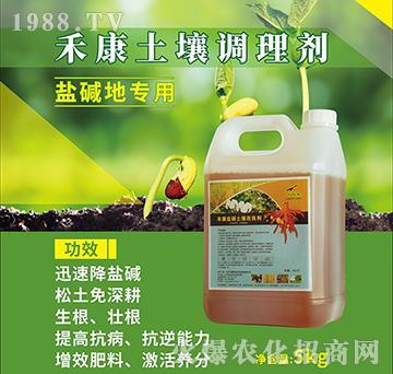 禾康鹽堿土壤改良劑-飛鷹綠地