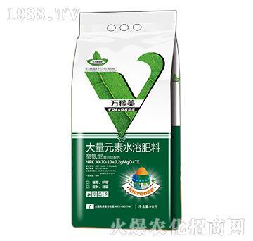 高氮型大量元素水溶肥料-30-10-10+0.2gMgO+TE万稼美-沃力德瑞斯