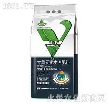 高钾型大量元素水溶肥料-14-8-35+0.2gMgO+TE-果真好-沃力德瑞斯