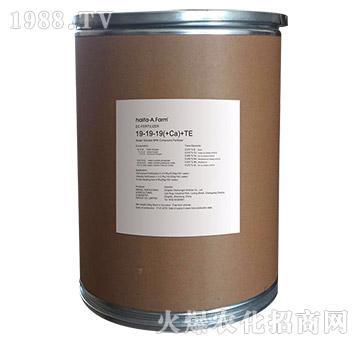 纯进口复合型水溶肥料19-19-19(+Ca)+TE-绿金-以色列海法