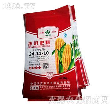 玉米专用掺混肥料24-11-10-中农国控