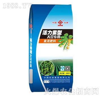 活力素型大豆专用复混肥料-中农国控