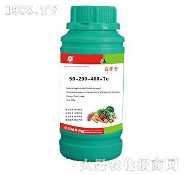 高钾型水溶肥料50-200-400+Te-贝尔