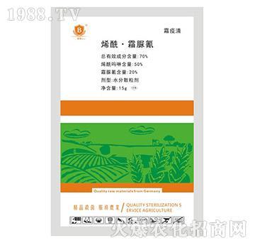 70%烯酰・霜脲氰-霜疫清-贝尔