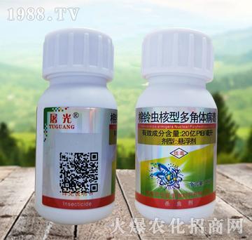 30克棉铃虫核型多角体病毒-屠光-华夏生物