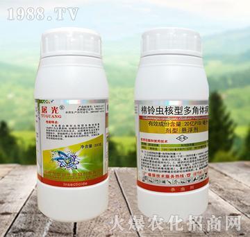 300克棉铃虫核型多角体病毒-屠光-华夏生物