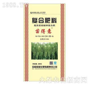 高濃度硫酸鉀復合肥料24-20-6-苗得意-聯隆
