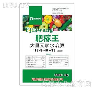 高钾型大量元素水溶肥-12-8-40+TE-肥稼王-禾颖国际