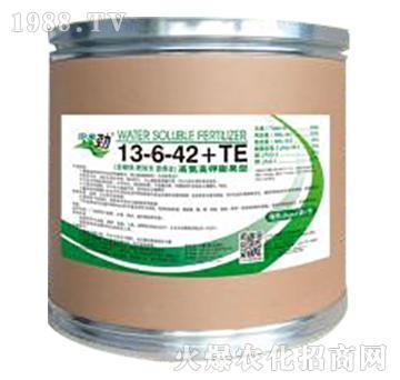 高氮高钾膨果型大量元素水溶肥料13-6-42+TE-田来劲-聚源生物