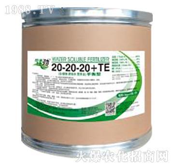 平衡型大量元素水溶肥料20-20-20+TE-田来劲-聚源生物