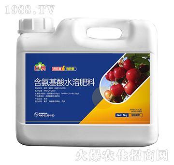 樱桃需配氨基酸水溶肥料-巨奥-菲沃