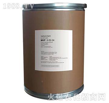 纯进口复合型水溶肥料0-52-34-绿金-以色列海法