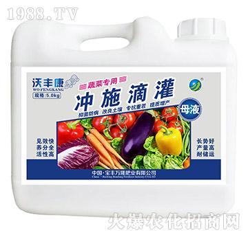 蔬菜专用冲施滴灌母液-沃丰康-宝丰万隆