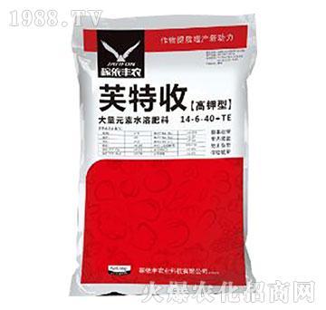 高钾型大量元素水溶肥14-6-40+TE-芙特收-稼依丰农业