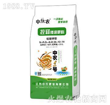 硫酸钾型控释掺混肥料26-12-14-中农1号-中福农