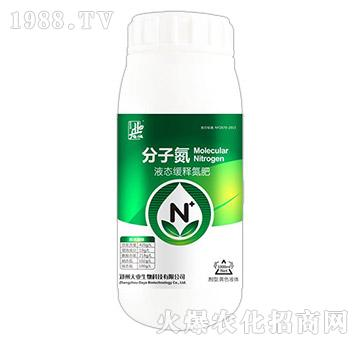 液態緩釋氮肥-分子氮-大業生物