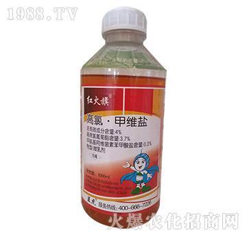 4%高氯・甲维盐(1000ml)-红火旗-蓝虎品牌