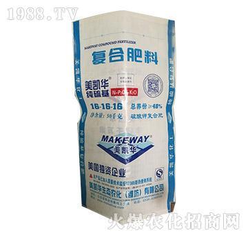 纯硫基复合肥料16-16-16-美凯华