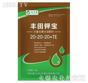 大量元素水溶肥料-丰田钾宝-20-20-20+TE-同兴南
