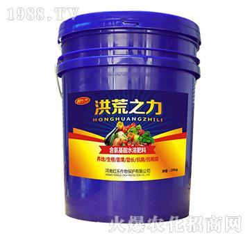 含氨基酸水溶肥料-洪荒之力-红乐