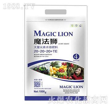 大量元素水溶肥料20-20-20+TE-魔法狮-海苒