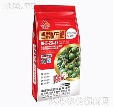 硫酸钾型16-5-23+TE-坚果配方肥-盛高