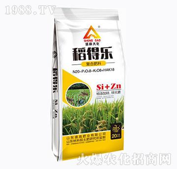 复合肥料-稻得乐-盛高肥业