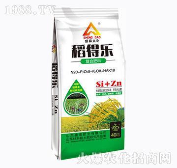 复合肥料-稻得乐-(绿)-盛高肥业