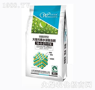 硝酸钾型大量元素水溶肥16-5-27+TE-盛高肥业