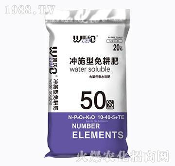 大量元素水溶肥10-40-5+TE-冲施型免耕肥-雅光农业