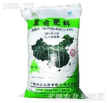 复合肥料20-9-12-阔农农资
