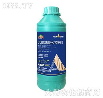 山药需配含氨基酸水溶肥料-巨奥