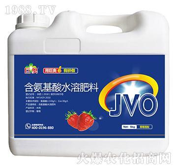 草莓需配含氨基酸水溶肥料-巨奥