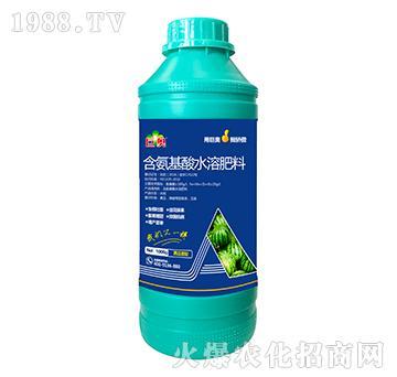 西瓜需配含氨基水溶肥料