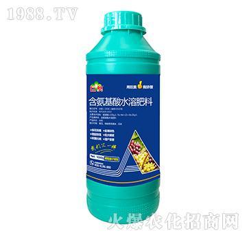 葡萄提子需配含氨基水溶