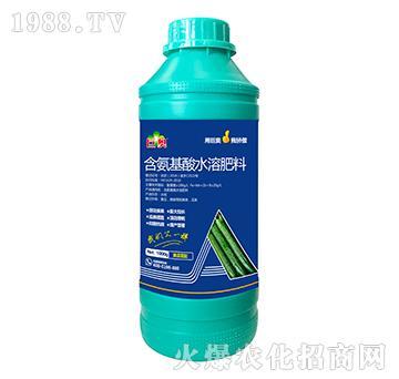 黄瓜需配含氨基水溶肥料