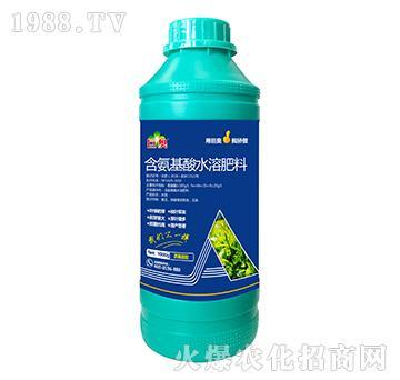 茶桑需配含氨基水溶肥料