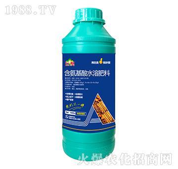 中药材需配含氨基水溶肥