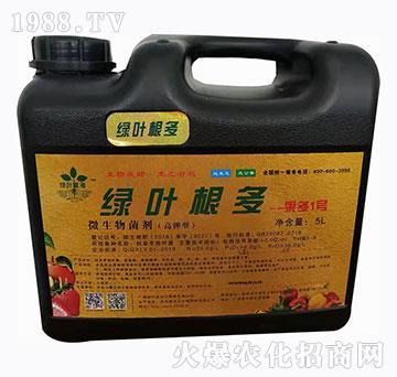 高钾型微生物菌剂-绿叶根多-果多1号-绿叶