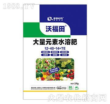 大量元素水溶肥12-40-14+TE-沃福田-英伦科润-天利农