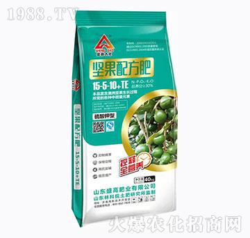硫酸钾中微量元素15-5-10+TE-坚果配方配-盛高肥业
