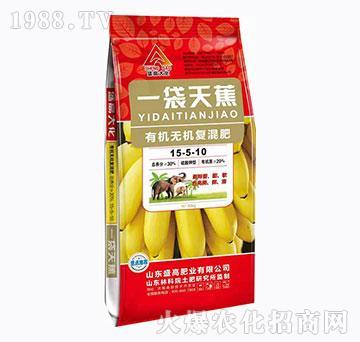 有机无机复混肥15-5-10-一袋天蕉-盛高肥业