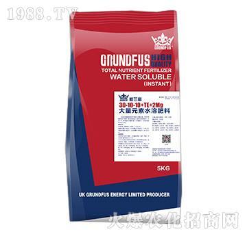 大量元素水溶肥料30-10-10+TE+2Mg-格兰富