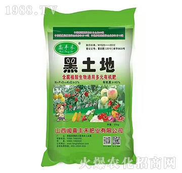 黑土地含腐植酸生物通用多元有机肥-蕊丰禾