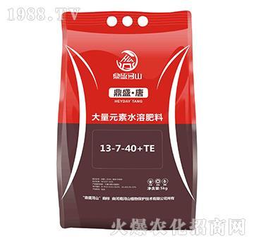 高鉀型大量元素水溶肥料13-7-40+TE-鼎盛·唐-鼎盛河山