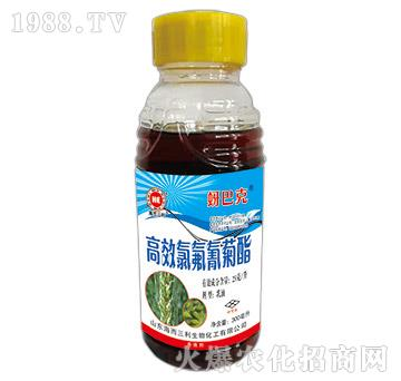 高效氯氟氰菊酯-蚜巴克-海而三利