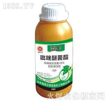 25%吡唑醚菌酯-雷击(1000g)-海而三利