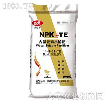 大量元素水溶肥14-5-31+TE-圣德丰