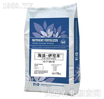 大量元素水溶肥料13-7-40+TE-伊可丰-海法